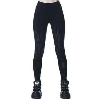 kalhoty dámské (legíny) KILLSTAR - Untamed - Black, KILLSTAR