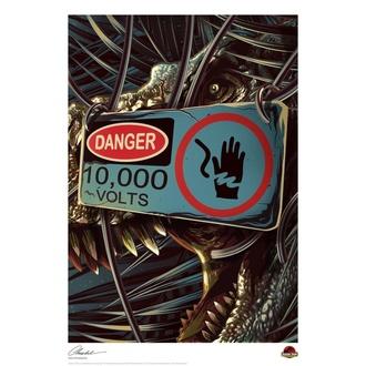 obraz Jurassic Park - Danger - FNTK-UV-JP-14