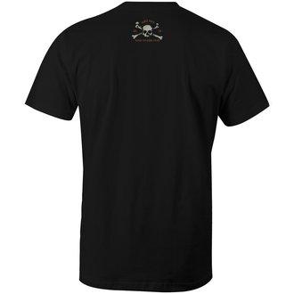 tričko pánské FAMOUS STARS & STRAPS - UNDERWORLD - BLACK, FAMOUS STARS & STRAPS
