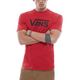 tričko pánské VANS - MN CLASSIC - chili pepper, VANS