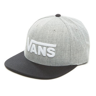 kšiltovka VANS - MN DROP V II SNAPBACK - Heather G