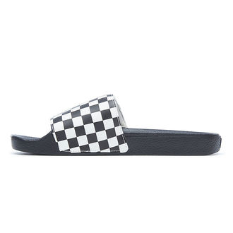 sandály pánské VANS - Slide-On (Checkerboard) - Black/White - VN0004KIIP91