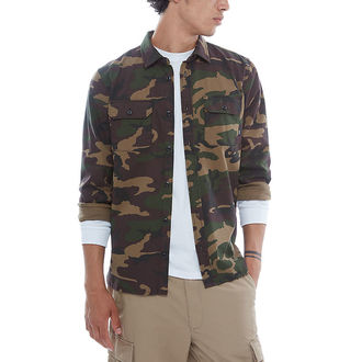 košile pánská VANS - MN ARLINGTON CAMO/LOCKUP, VANS