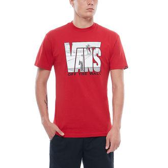 tričko pánské VANS - MN SECURITY - Chili Pepper, VANS