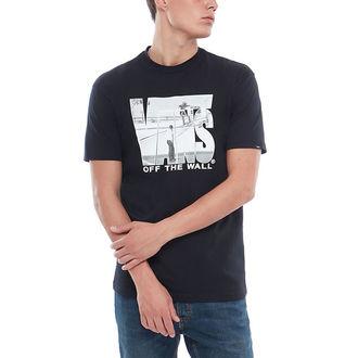 tričko pánské VANS - MN SECURITY - Black, VANS