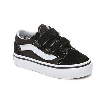 boty dětské VANS - UY OLD SKOOL V Black/True White, VANS