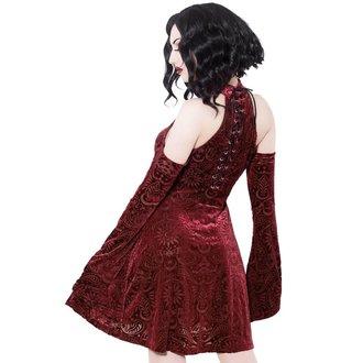šaty dámské KILLSTAR - Vela - WINE, KILLSTAR