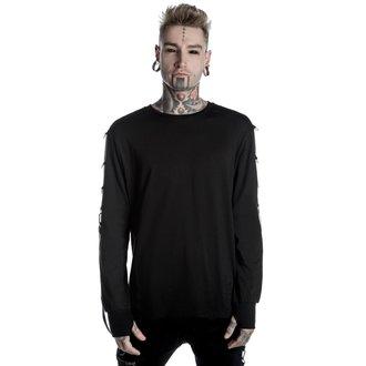 tričko pánské s dlouhým rukávem KILLSTAR - Vengeance - Black, KILLSTAR