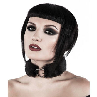 obojek KILLSTAR - Venus Fur Choker - Black, KILLSTAR