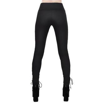 kalhoty dámské (legíny) KILLSTAR - Viper Lace-Up, KILLSTAR