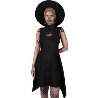 šaty dámské KILLSTAR - Vortex - Black, KILLSTAR