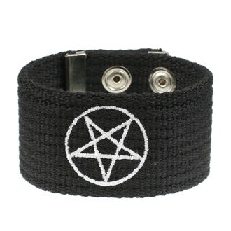 náramek Pentagram, BLACK & METAL