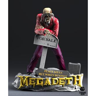 figurka (dekorace) Megadeth - Rock Iconz - Peace Sells - Vic Rattlehead 2 - KNUCKLEBONZ, KNUCKLEBONZ, Megadeth