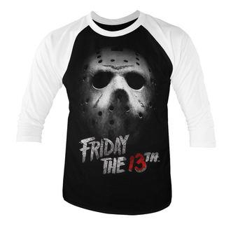 tričko pánské s 3/4 rukávem Friday the 13th - White - HYBRIS - WB-20-F13TH006-H63-7-WB