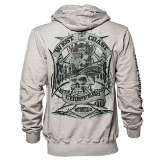 mikina pánská West Coast Choppers - CASH ONLY - Vintage grey, West Coast Choppers