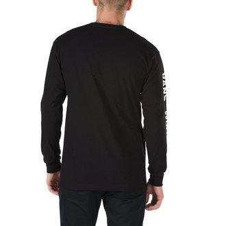 tričko pánské s dlouhým rukávem VANS - WORLDS - BLACK, VANS