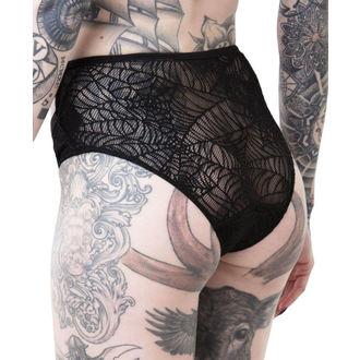 kalhotky dámské KILLSTAR - WEEPING WIDOW - BLACK, KILLSTAR