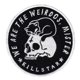 nažehlovačka (nášivka) KILLSTAR - Weirdos - BLACK - K-PTH-U-1395