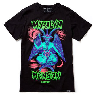 tričko unisex KILLSTAR - MARILYN MANSON - When I'm God - Black