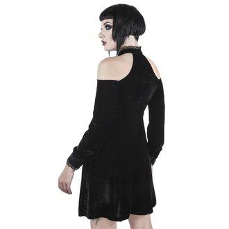 šaty dámské KILLSTAR - WICKED WEBUTANT SKATER - BLACK, KILLSTAR