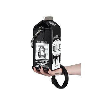 kabelka (taška) KILLSTAR - WICKED MILK - BLACK, KILLSTAR