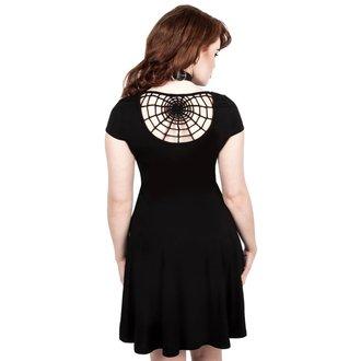 šaty dámské KILLSTAR - WIDOWS SKATER - BLACK, KILLSTAR
