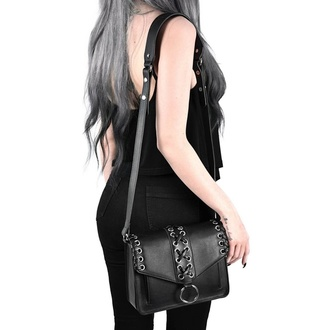 kabelka (taška) KILLSTAR - Wildfire - BLACK, KILLSTAR