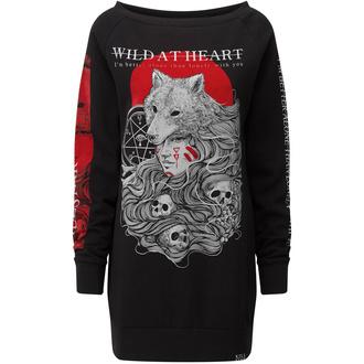 šaty dámské KILLSTAR - Wild At Heart - BLACK - KSRA001865