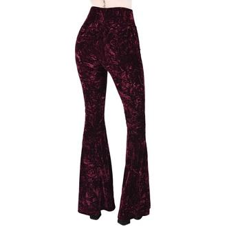 kalhoty dámské KILLSTAR - Wisteria Bell, KILLSTAR