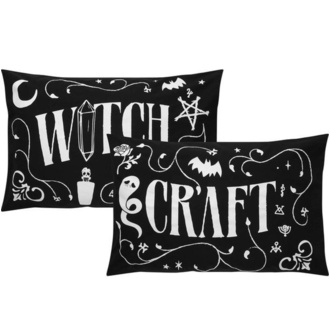 povlečení na polštáře KILLSTAR - Witchcraft - BLACK - KSRA001548