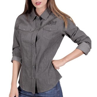 košile dámská HYRAW - CHEMISE SKULLZ, HYRAW