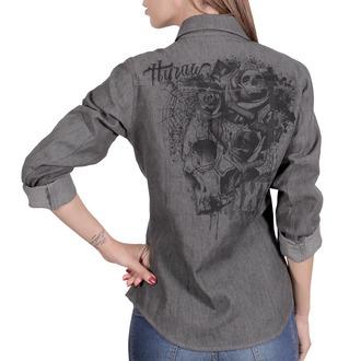 košile dámská HYRAW - CHEMISE SKULLZ
