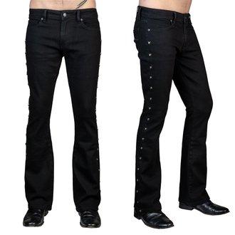 kalhoty pánské (jeans) WORNSTAR - Gauntlet Skull - Black, WORNSTAR