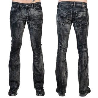 kalhoty pánské (jeans) WORNSTAR - Hellraiser Smoke - Black - WSGP-HRKSW
