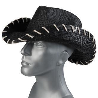 klobouk WORNSTAR - Hellrider HS Black Rocker Cowboy, WORNSTAR