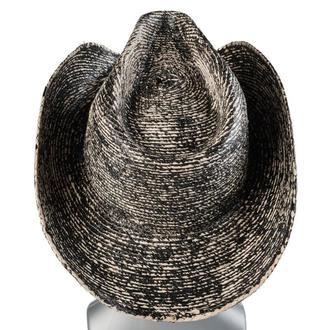 klobouk WORNSTAR - Hellrider Black & Natural Rocker Cowboy - WSH-103-HDNK-1