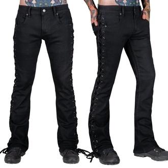 kalhoty pánské (jeans) WORNSTAR - Hellraiser - Black Denim - Black - WSP-HRKSL
