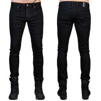 kalhoty pánské (jeans) WORNSTAR - Rampager - Black - WSP-RPK