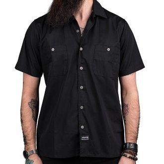 košile pánská WORNSTAR - MASTER Drifter Essentials - Black, WORNSTAR