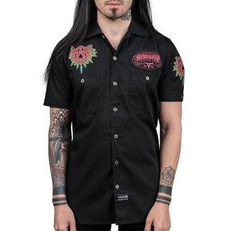 košile pánská WORNSTAR - MASTER Renegade - Black, WORNSTAR