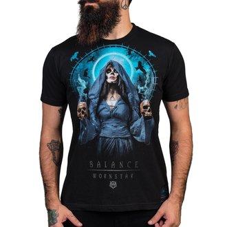 tričko pánské WORNSTAR - Balance - Black, WORNSTAR