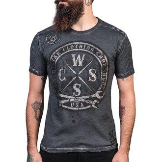 tričko pánské WORNSTAR - Chop Shop - Gray, WORNSTAR