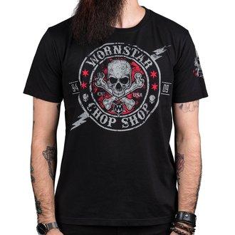 tričko pánské WORNSTAR - Electric - Black, WORNSTAR