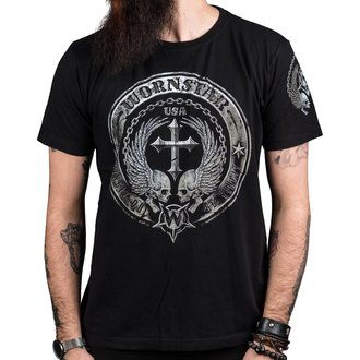 tričko pánské WORNSTAR - Rivalis - Black, WORNSTAR