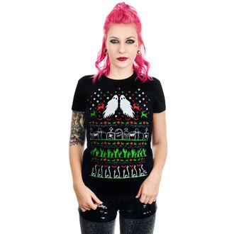 tričko dámské TOO FAST - GRAVE ROBBER ZOMBIE XMAS VS HALLOWEEN BABYDOLL CHRISTMAS, TOO FAST