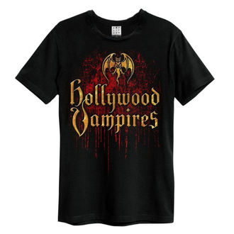 tričko pánské Hollywood Vampires - Bat Blood Logo - AMPLIFIED, AMPLIFIED, Hollywood Vampires