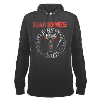mikina pánská RAMONES - AMPLIFIED, AMPLIFIED, Ramones