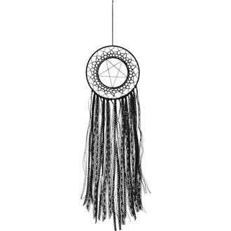 lapač snů (dekorace) KILLSTAR - ZETA - BLACK, KILLSTAR