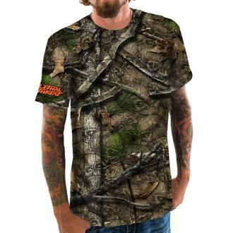 tričko pánské LETHAL THREAT - BACKWOODS - SKULL CAMO - SC50508