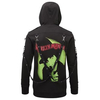 mikina unisex KILLSTAR - Marilyn Manson - Smells Like Manson - Black, KILLSTAR, Marilyn Manson